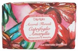 Мыло кусковое Iteritalia с оливковым маслом, жимолость и амариллис