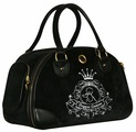 Переноска-сумка для кошек и собак Fauna International Allegra Silver 42х21х27 см