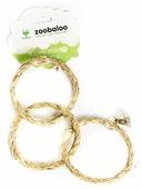 Игрушка для птиц Zoobaloo Три кольца си