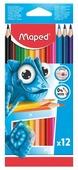 Maped Цветные карандаши Pulse 12 цветов (862252)