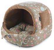Домик для кошек, для собак Гамма Лукошко 33х30х30 см