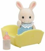 Игровой набор Sylvanian Families Малыш Молочный Кролик 3418/5063