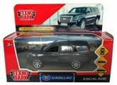 Внедорожник ТЕХНОПАРК Cadillac Escalade (ESCALADE-BK/SL/WT) 12 см
