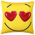 Подушка декоративная Мнушки Смайл Влюблен 35х35 см (Ап01сма03)