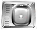 Накладная кухонная мойка Fabia 50x60 (m00008) 60х50см нержавеющая сталь