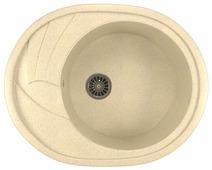 Врезная кухонная мойка Mixline ML-GM17 57х46.5см искусственный мрамор