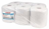Туалетная бумага Лайма Универсал белая однослойная 124546