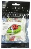 Конструктор Nanoblock Miniature IST-007 Божья коровка