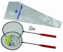 Набор ракеток для бадминтона 2шт (волан, чехол) START UP R-206