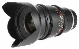 Объектив Samyang 16mm T2.2 ED AS UMC CS VDSLR Sony E
