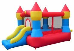 Надувной комплекс Happy Hop Супер прыжок 9017