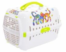 Переноска-клиппер для кошек Moderna Trendy Runner Друзья Навсегда 51х31х34 см