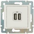 USB розетка Legrand Valena 694370, белый