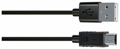 Кабель INTERSTEP USB - MiniUsb (IS-DC-0000000KA-000B201) 1 м