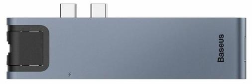 USB-концентратор Baseus Thunderbolt C+ Pro (CAHUB-L0G), разъемов: 5