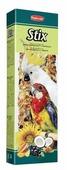 Лакомство для птиц Padovan Stix parrots для крупных попугаев фруктовые