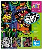 Айрис-Пресс Набор бархатных раскрасок. Чудесные коты. 3 основы