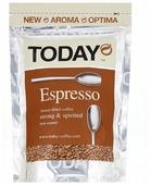 Кофе растворимый Today Espresso сублимированный, пакет