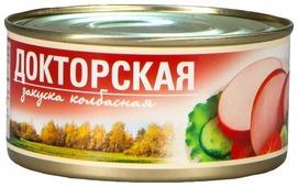 Рузком Закуска колбасная Докторская 325 г