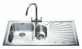 Врезная кухонная мойка smeg SP102D 100х50см нержавеющая сталь