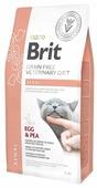 Корм для кошек Brit Veterinary Diet при проблемах с почками, беззерновой