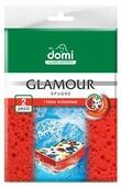 Губка кухонная Domi Glamour 2 шт