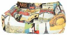Лежак для собак PRIDE Париж 60х50х18 см