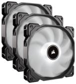 Система охлаждения для корпуса Corsair Air Series AF120 LED (2018) White Triple Pack