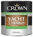 Лак яхтный Crown Yacht Varnish (1 л) алкидно-уретановый