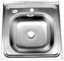 Накладная кухонная мойка Fabia 50x50 0.4/160 50х50см нержавеющая сталь