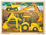 Рамка-вкладыш Melissa & Doug Строительная площадка (9064), 24 дет.