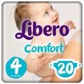 Libero подгузники Comfort 4 (7-14 кг) 20 шт.