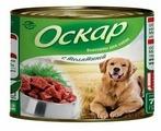 Корм для собак Оскар Консервы для собак с Телятиной
