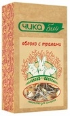 Лакомство для кроликов, грызунов Чика Чика био яблоко с травами