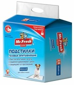 Пеленки для собак впитывающие Mr. Fresh Expert Regular F502 60х60 см