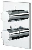 Термостатический двухрычажный смеситель для душа Oras Alessi One 8577 + 7127