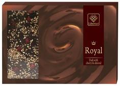 Шоколад Libertad Royal темный с вишней и миндалем