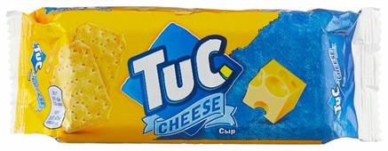 Крекеры TUC Сыр, 100 г