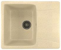 Врезная кухонная мойка Mixline ML-GM26 58х47см искусственный мрамор