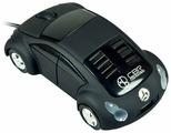 Мышь CBR MF 500 Beatle Black USB