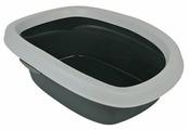 Туалет-лоток для кошек TRIXIE Carlo 43х31х14 см