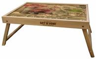 Поднос-столик Gift'n'Home TL (дуб)