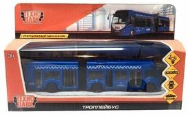 Троллейбус ТЕХНОПАРК SB-18-11WB(IC) 12 см