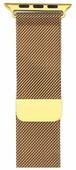 Gurdini Ремешок Milanese Loop миланское плетение для Apple Watch 38/40 мм