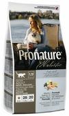 Корм для кошек ProNature Holistic для здоровья кожи и шерсти, с лососем и с коричневым рисом