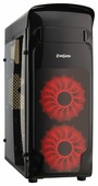 Компьютерный корпус ExeGate EVO-8206 w/o PSU Black