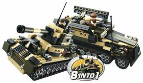 Конструктор SLUBAN Вооруженные силы M38-B0587 8 в 1