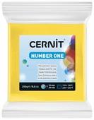 Полимерная глина Cernit Number one желтая (700), 250 г