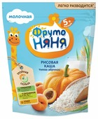 Каша ФрутоНяня молочная рисовая с тыквой, абрикосом (с 5 месяцев) 200 г