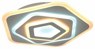 Люстра Максисвет Панель 1-7410-WH Y LED